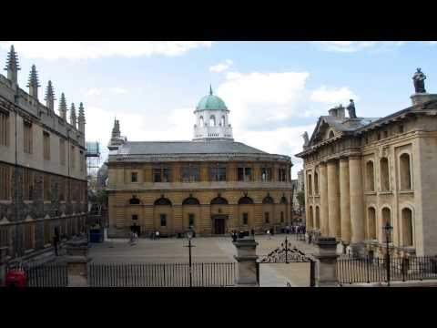 Sheldonian theatre Oxford Oxfordshire