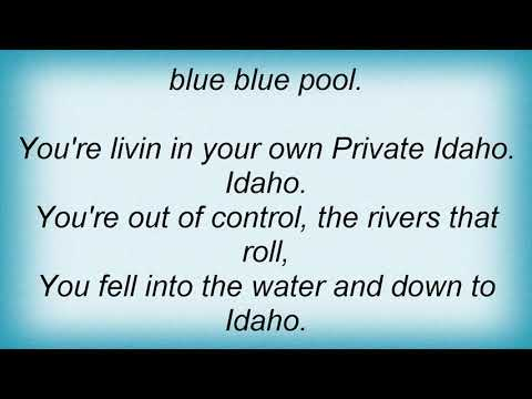 B-52's - Private Idaho Lyrics
