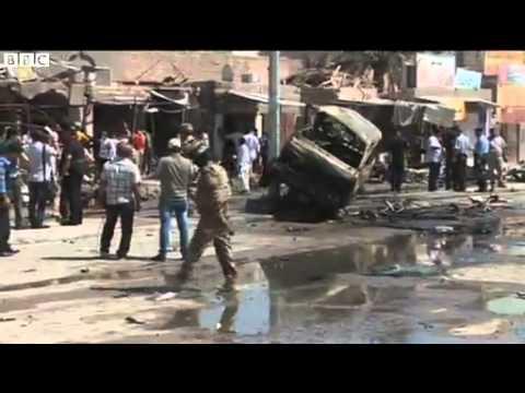 Iraq attacks  Eid al Fitr blasts kills dozens