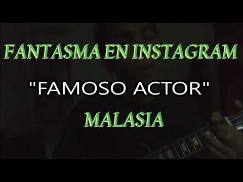 Download Fantasma en Instagram, famoso actor y cantante Malasia. 19/12/2017 Mp4 baru