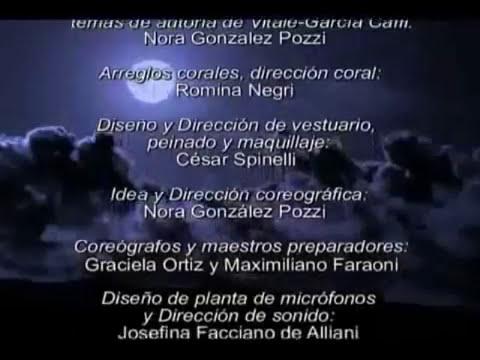 Hernán Piquin en 'Nazareno Cruz y el Lobo' El musical...