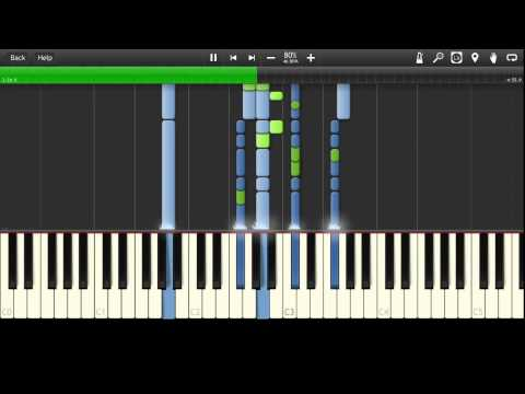 Green Day - Last Night On Earth Synthesia Tutorial
