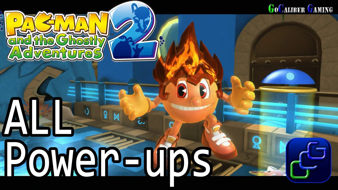 Pac-Man and the Ghostly Adventures 2 - Tutorial ALL Power ...
