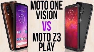Moto One Vision vs Moto Z3 Play (Comparativo)