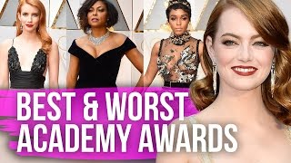 Best & Worst Dressed Oscars 2017