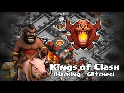 Clash of clans - Kings of clash (hacking and glitches)