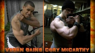 "Re: Vegan Gains ""Best Set and Rep Range For Gains"" - Cory McCarthy -"