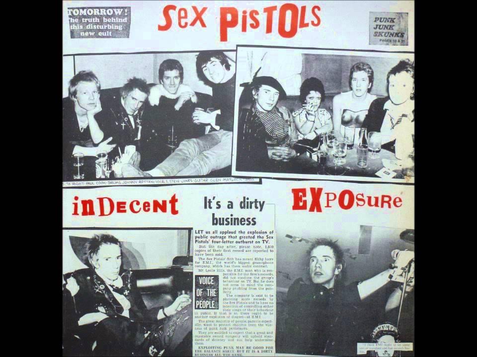 Photos of the sex pistols
