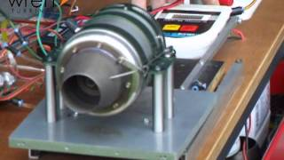 Wren Turbines 80 Jubilee test run - Jet Engine
