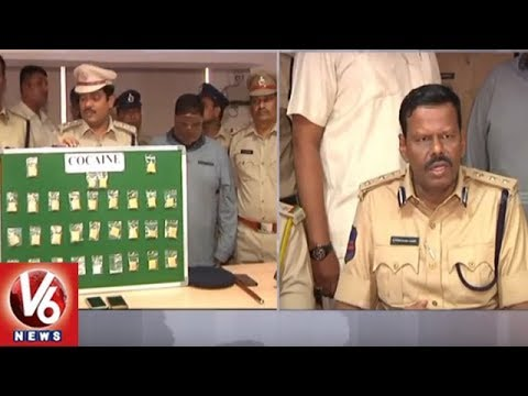 Excise Police Arrest Drugs Supplier Abdul Hamid In Banjara Hills, Seizes 31 Grams Cocaine | V6 News