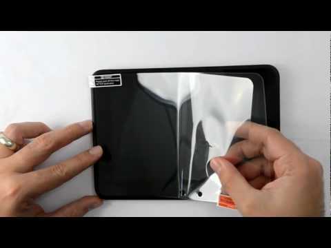 Kindle Fire HD Screen Protector Installation Instructions by Marware