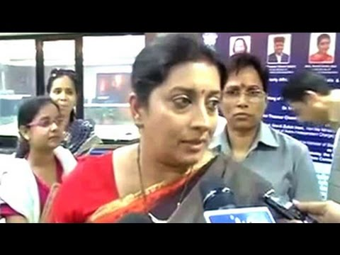 Aligarh Muslim University's curbs on women using library insult daughters, says Smriti Irani