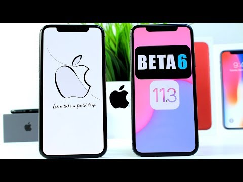 iOS 11.3 BETA 6 is out   Apple March Media Event & More