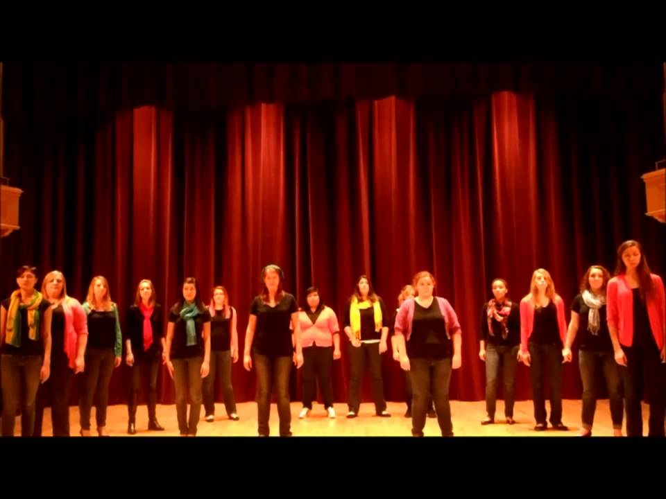 Illinois Wesleyan University's Touch of Class - ICCA Audition ...