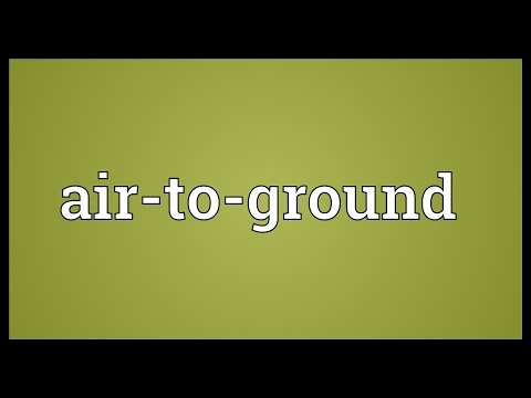 Header of air-to-ground