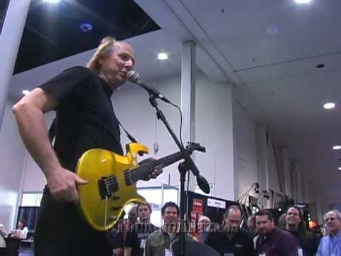 Adrian Belew at Namm 2009 introducing his new Parker Guitar Part 2