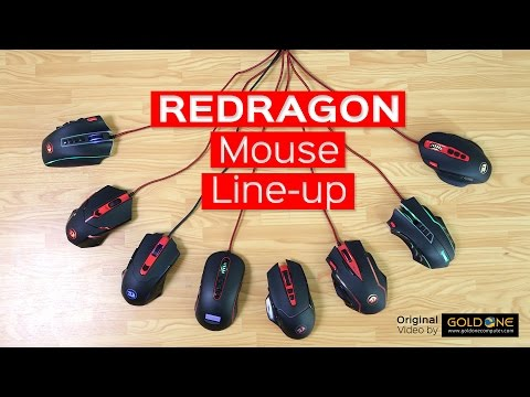 Redragon Mouse Line-up / Khmer - Gold One TV EP32