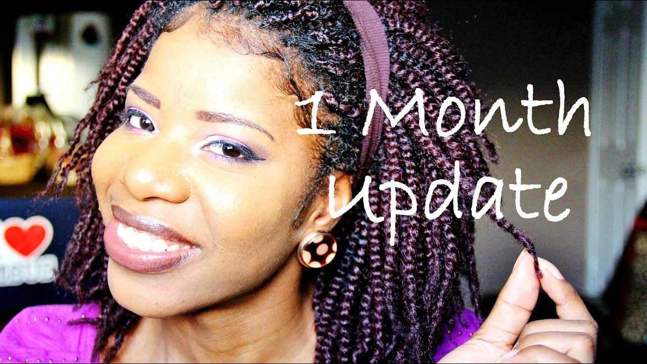 Crochet Braids Kinky Twists : Update On Kinky Twist/Crochet Braids (Q&A) - YouTube