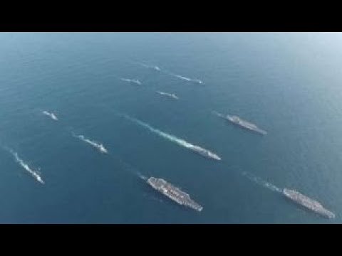 3 US Navy aircraft carriers hold drills off Korean Peninsula