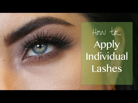 How To Apply Individual Lashes ft. Ardell Individuals   Melissa Alatorre
