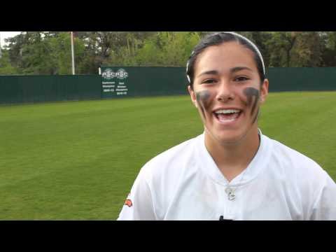 Raven Rodriguez -- UT Tyler Softball (April 7, 2013)