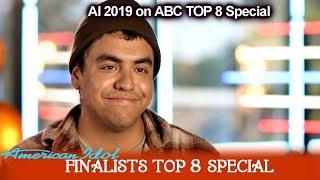 Alejandro Aranda Part 1 Meet Your Finalists | American Idol 2019 Top 8