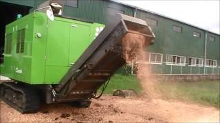 Wood Chipper Shredder GSC930DC (Screen 10mm)