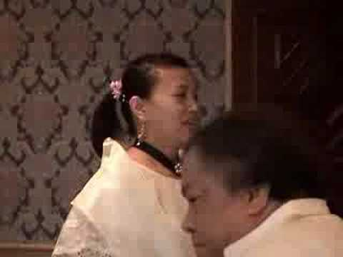 Melody S. Bustos Dances To la Jota Moncadena, 2005 video
