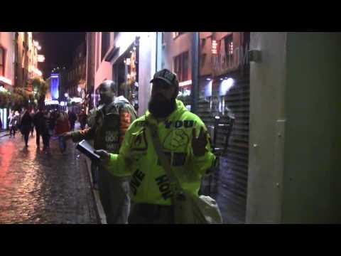 Temple Bar Preacher | Dublin, Ireland Street Preaching | Kerrigan Skelly