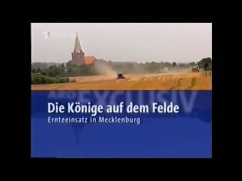 Die Könige auf dem Felde //Ernteeinsatz in Mecklenburg// Getreideernte in Mecklenburg Vorpommern