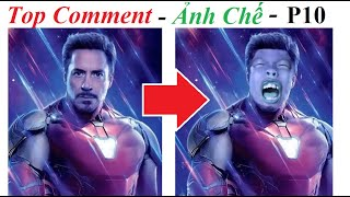 Ảnh Chế Thanos 😂 Top Comment  Ảnh Chế (P 10) Iron Man - Avengers Endgame, Funny, Photoshop Troll