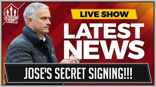 MOURINHO'S Secret Transfer Target | MAN UTD TRANSFER NEWS