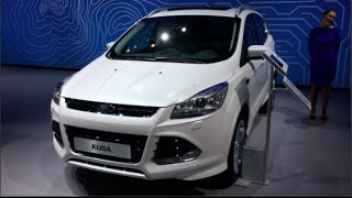 Ford Kuga 2015 In detail review walkaround Interior Exterior
