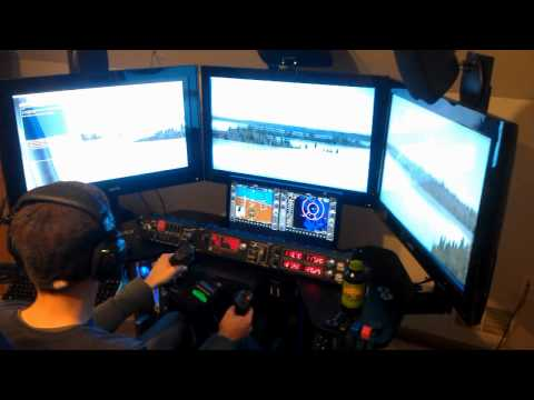 FSX with TrackiR5 and multiple monitors