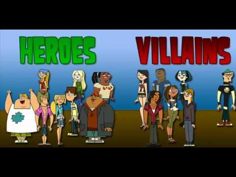 Total Drama Season 5 Heroes vs Villains Total Drama 5 Heroes vs