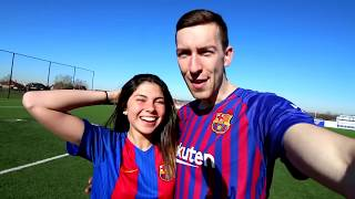 FOOTBALL CHALLENGES VS LIONEL MESSI