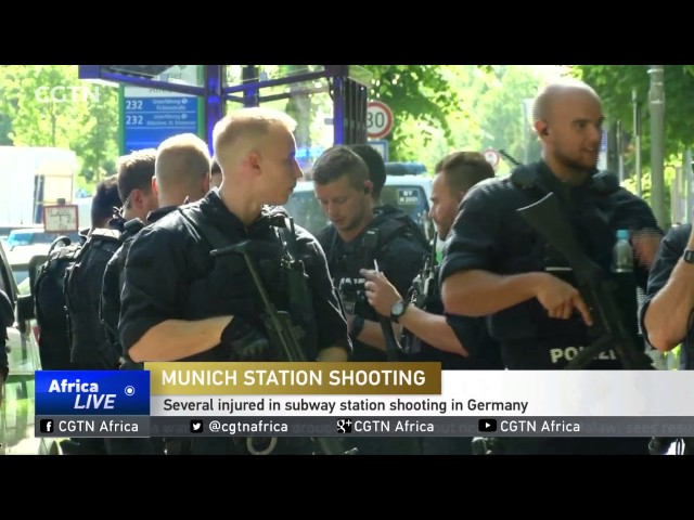 Several injured in subway station shooting in Germany