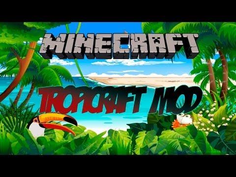 Minecraft 1.4.7 - Como instalar Tropicraft MOD - HD
