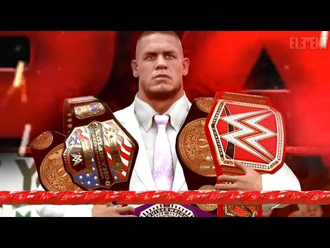 WWE 2K17 Story - John Cenas WWE RAW Intro/Open 📺