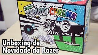 UNBOXING RAZER NOMMO CHROMA - Novo Produto da Razer!
