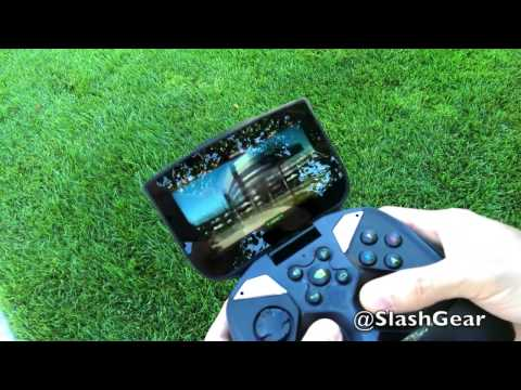 NVIDIA SHIELD Controlling AR.Drone 2.0 - SlashGear