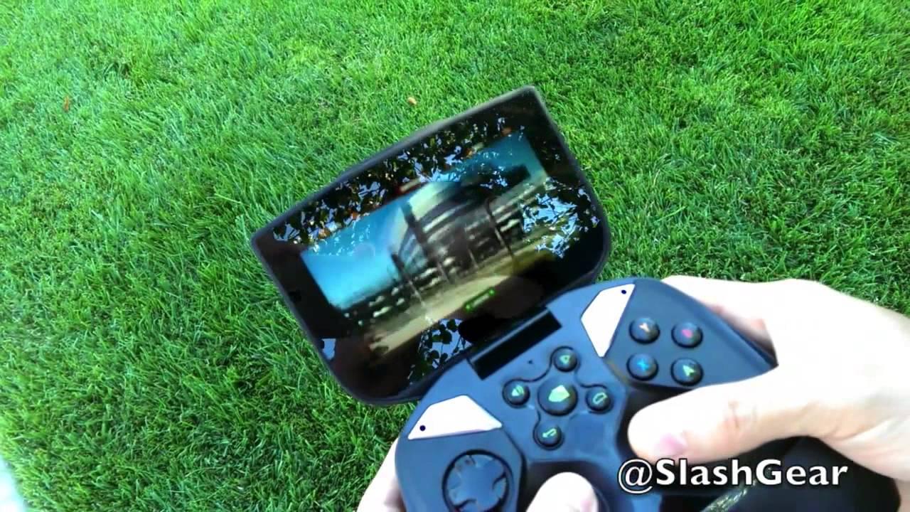NVIDIA SHIELD Controlling AR.Drone 2.0 - SlashGear