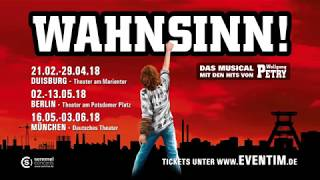 WAHNSINN 2018 - Die Musical Tour mit den Hits von Wolfgang Petry