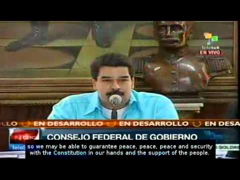 No one will set Venezuela on fire: Nicolas Maduro