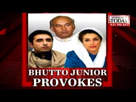 Debate: Bilwala Bhutto's Kashmir remark