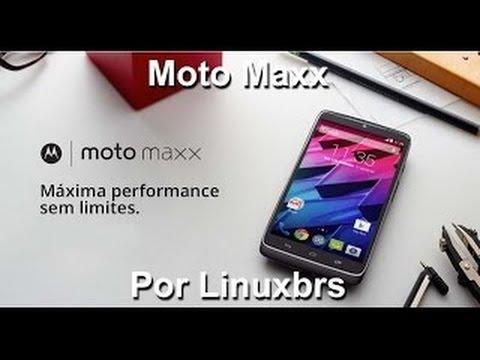 Motorola Moto Maxx  (Droid Turbo) - Hands on e especificações PT-BR