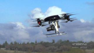 Draganflyer X8 - Aerial and Ground Based