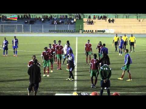 Football Concacaf FIFA U 20 Caribbean Cup Curacao vs St  Kitts & Nevis 2014 by miv.tv curacao