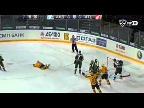 KHL: Goals Of The Week (video)