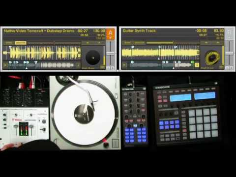 DJ Rafik performs with TRAKTOR KONTROL X1 & MASCHINE PT 2
